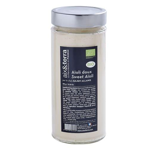 Sweet organic garlic 480gr