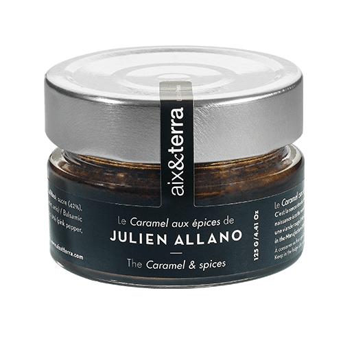Le Caramel aux épices de Julien Allano 125gr