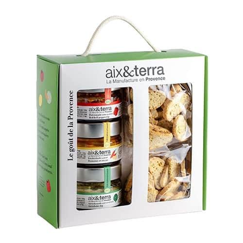 Organic Aperitif & Toast trio box set