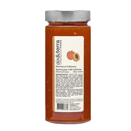 Confiture d'abricots aux calissons 650 gr
