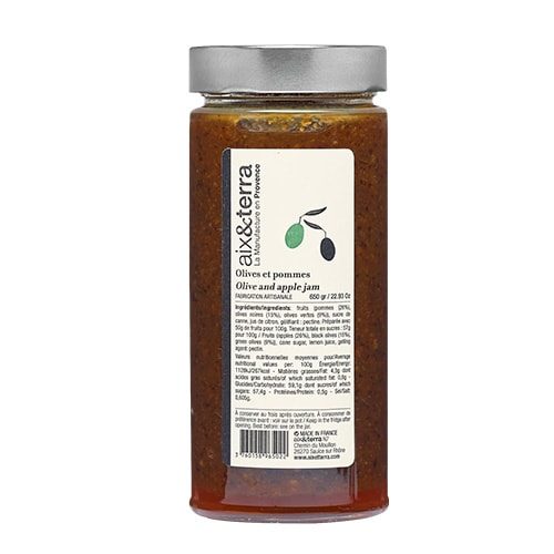 Apple and Olive Jam 650 gr