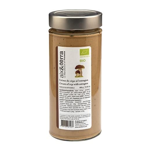 Cream of Porcini mushroom cream with organic tarragon 480gr