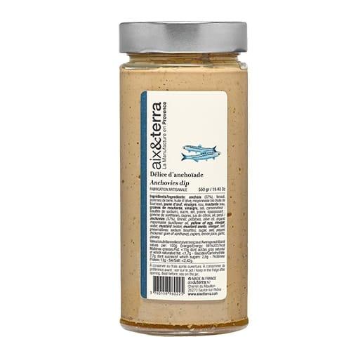 Délice d'anchoïade