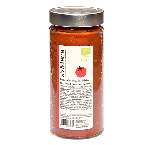 Dried Tomato Delight Organic 530gr