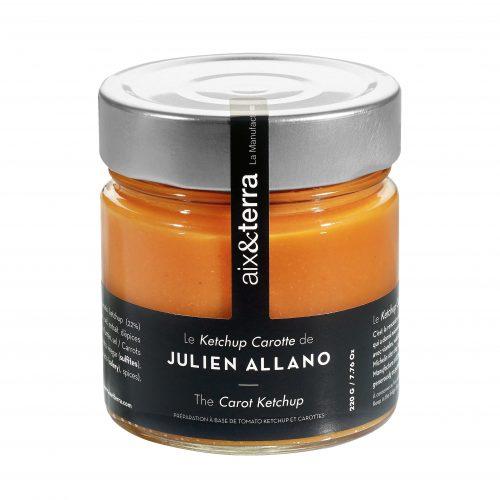 Le Ketchup Carotte de Julien Allano 220gr