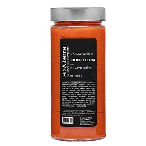 Le Ketchup carotte de Julien Allano 550gr