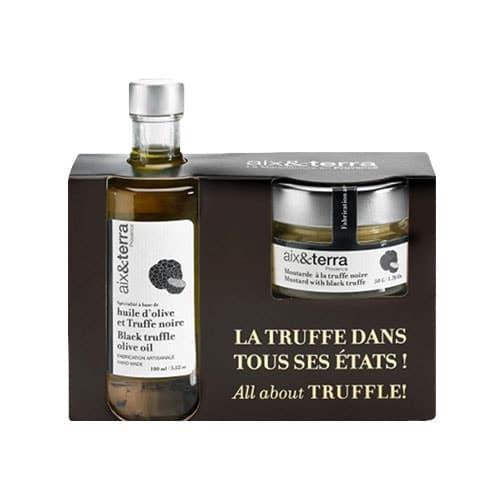Pack huile de truffe & moutarde truffe