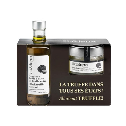 Truffle oil & salt pack