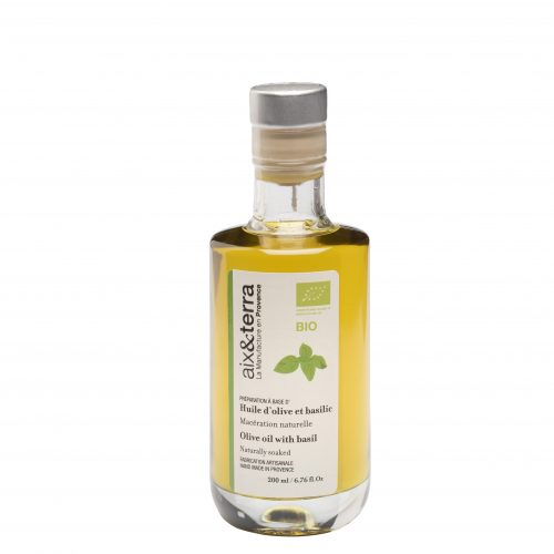Preparation based on Organic Basil Olive Oil 200ml