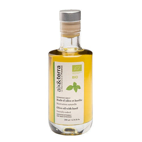 Preparation based on organic basil olive oil 200ml
