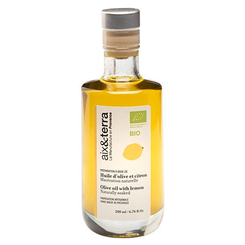 Preparation based on Organic Lemon Olive Oil 200ml
