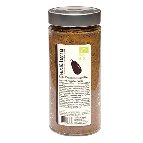 Roasted eggplant list BIO 530gr