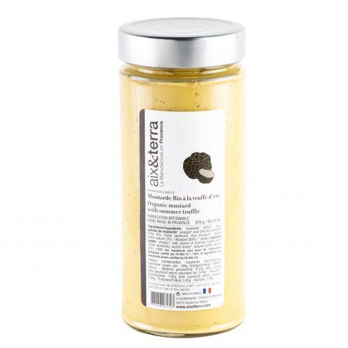 Moutarde Bio à la Truffe d'été 570gr