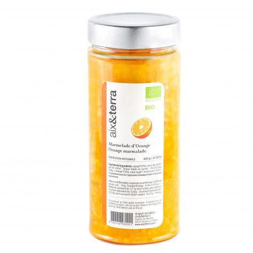 Organic Orange Marmalade 640gr