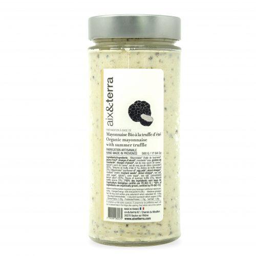 Mayonnaise Bio à la truffe d'été 500gr